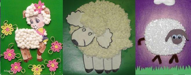 Новогодние поделки своими руками: овечка из ватных дисков, мастер-класс с фото. красивая новогодняя поделка овечка, созданная своими руками, будет прекрасным подарком или дополнением к подарку для близкого человека овечка своими руками из бумаги