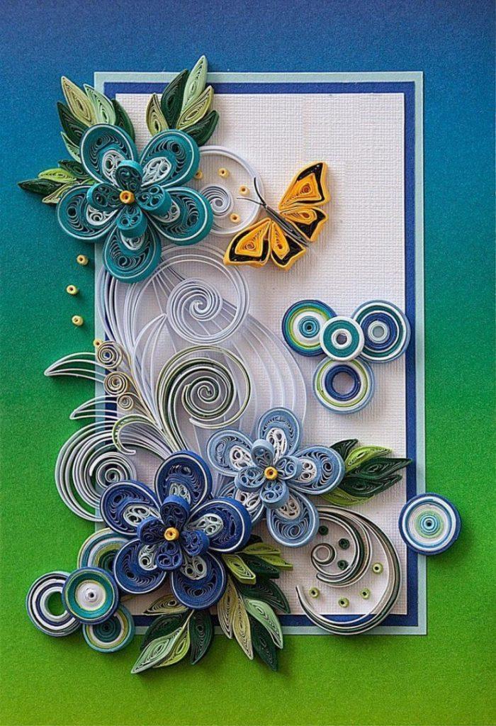 Новогодние открытки квиллинг: открытки на новый год своими руками в технике квиллинг, как сделать елку в стиле квиллинг на открытку, оригинальные идеи и мастер-классы