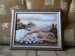 Вышивка крестом картин со схемами: можно ли вышить модульные картины или произведения от известных художников