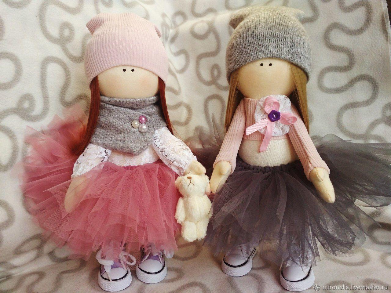 Совместный отшив куколки большеножки. часть 2. шьем одежду.