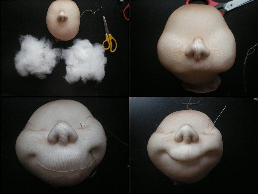 Мастер-класс поделка изделие шитьё кукла-шкатулка мастер-класс кружево ткань