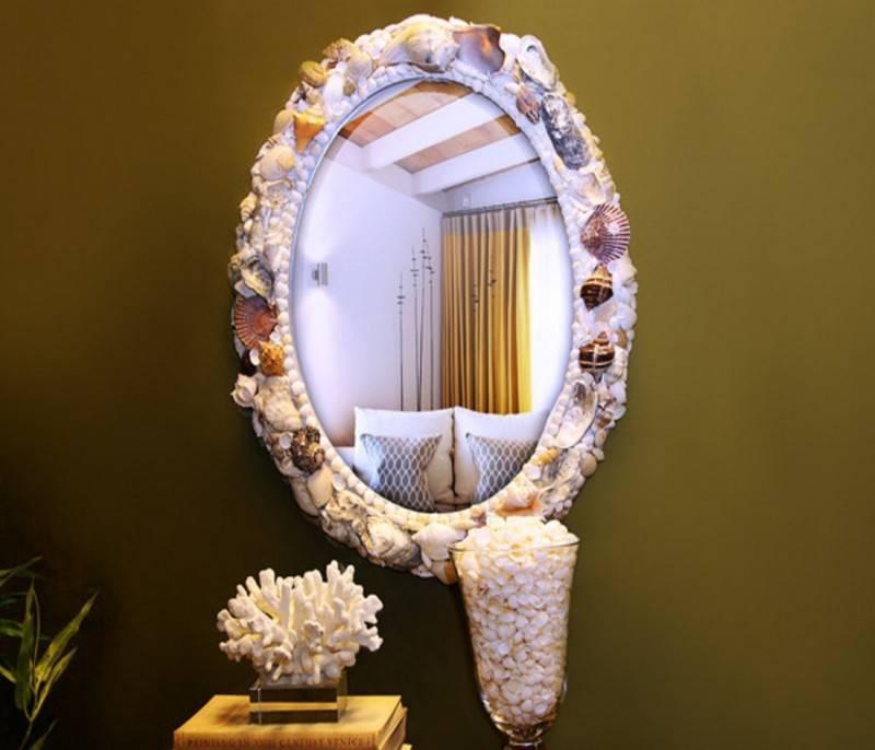 ᐉ вдыхаем жизнь в старое зеркало - своими руками -