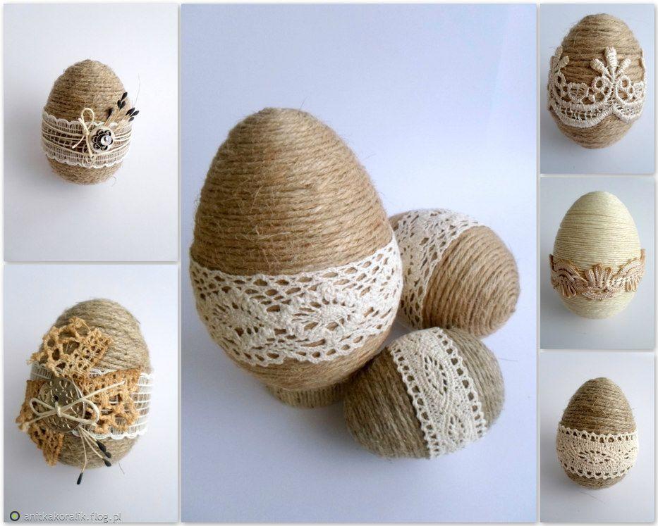 Как сделать пасхальное яйцо из шарика и ниток своими руками: пошаговая инструкция с фото и видео