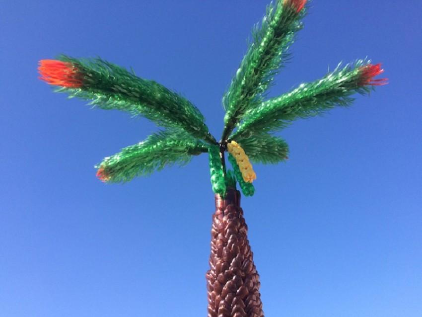 Пальма из пластиковых бутылок – пошаговая инструкция как сделать искусственное растение (85 фото)