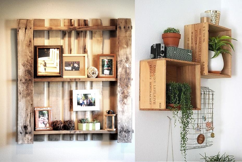 Полки из дерева своими руками: чертежи, дизайн, фото