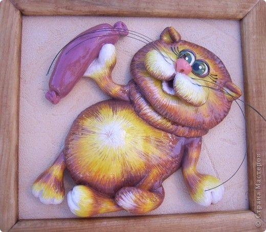 Кот из соленого теста: пошаговые инструкции и рецепт приготовления теста для лепки