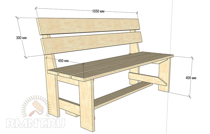Собираем шикарный деревянный стол для дачи своими руками