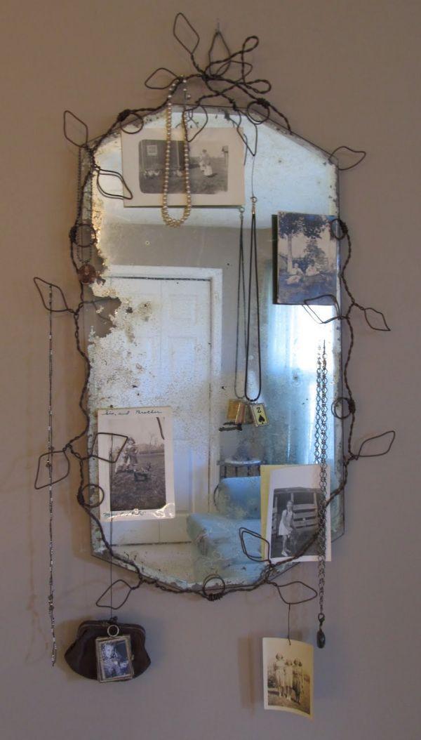 Вдыхаем жизнь в старое зеркало. как дать зеркалу новую жизнь? способы реставрации зеркал