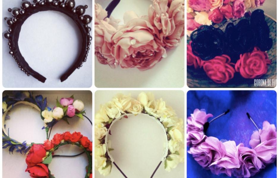 Как украсить прическу живыми цветами