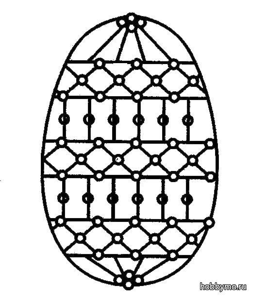 Пасхальные яйца из бисера (интересные схемы плетения) — как оплести яйцо бисером своими руками?
