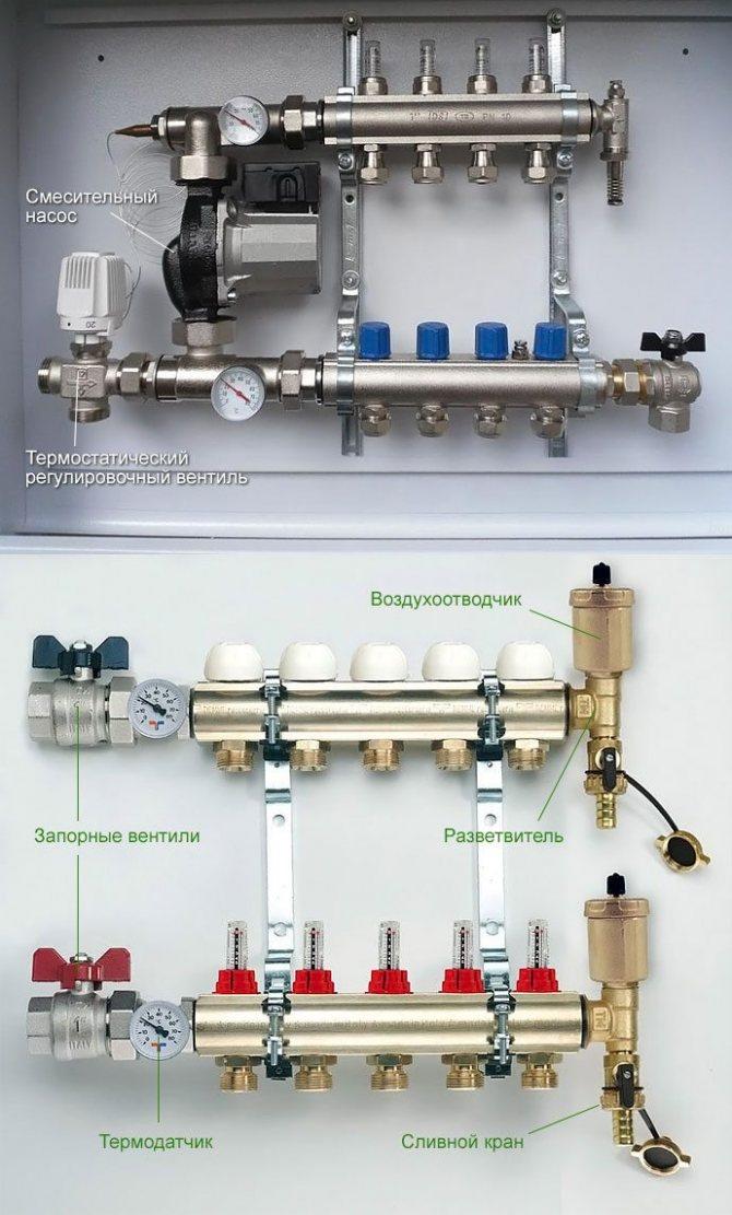 Монтируем коллекторную систему отопления