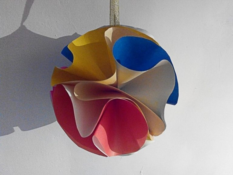 Воздушный шар папье маше: пошаговый мастер-класс, видео