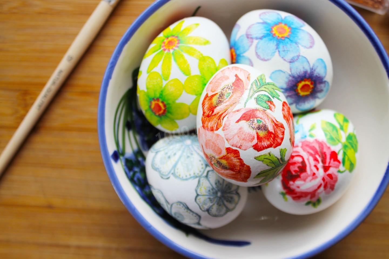 Пасхальное яйцо в стиле декупаж: 3 варианта как сделать своими руками с фото и видео