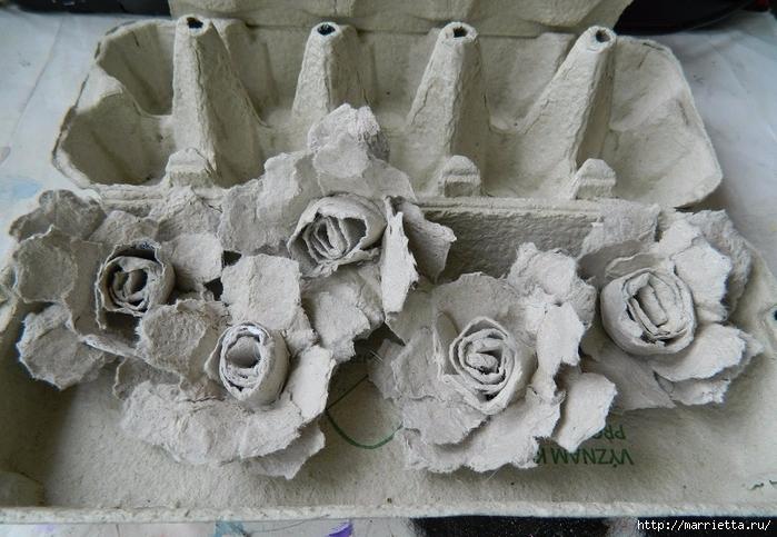 Поделки из лотков: мастер-класс изготовления красивых украшений своими руками