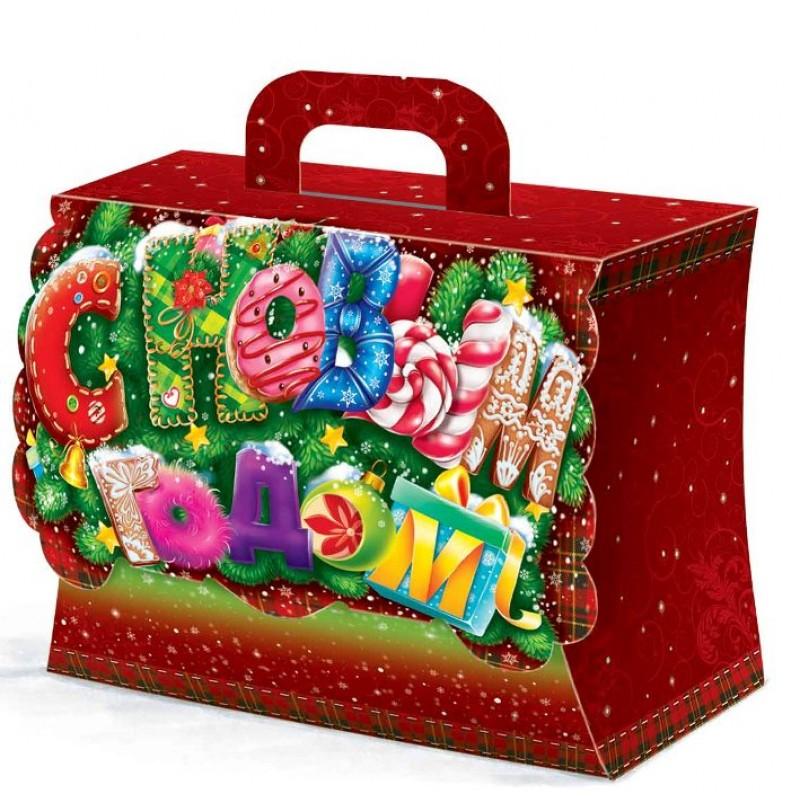 ? коробки своими руками на новый год