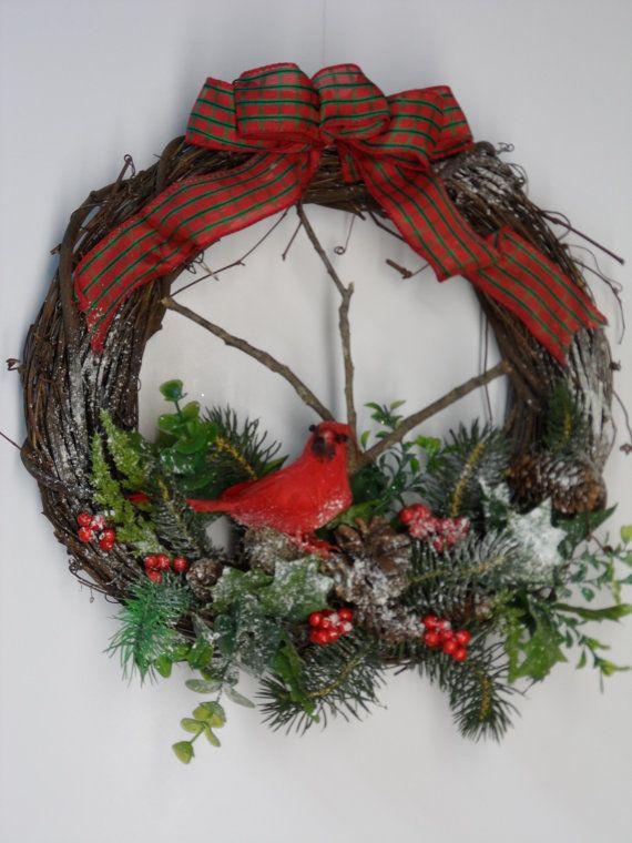 Рождественский венок своими руками, мастер-классы и идеи пошагового изготовления новогоднего венка