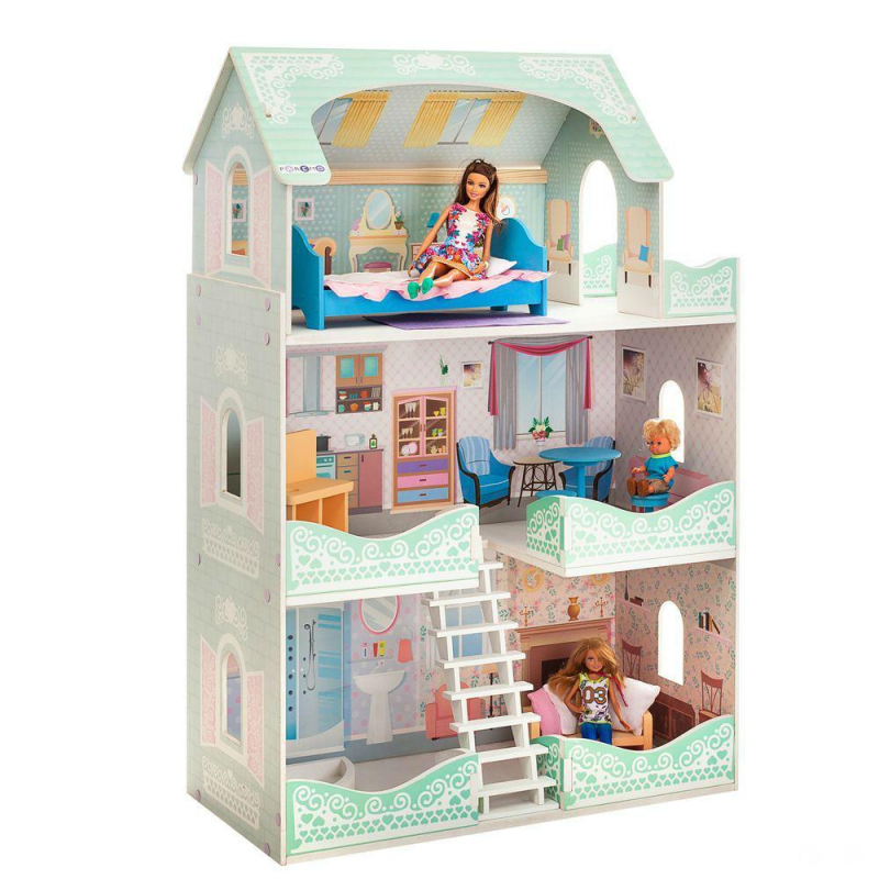 Башня-домик для игрушек