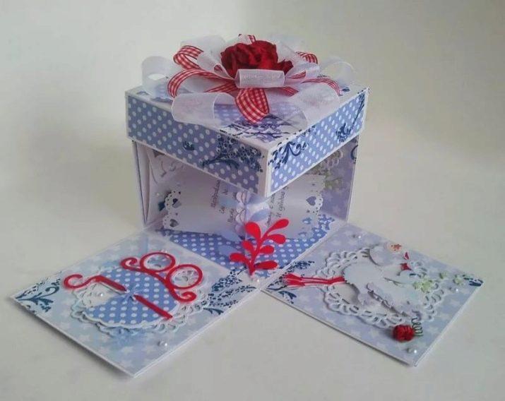 Как сделать красивую большую и маленькую коробочку, с пожеланиями, сюрпризом, крышкой, оригами, скрапбукинг, прозрачную для подарка своими руками из бумаги, картона: схемы с описанием. как оформить коробочку для подарка своими руками?