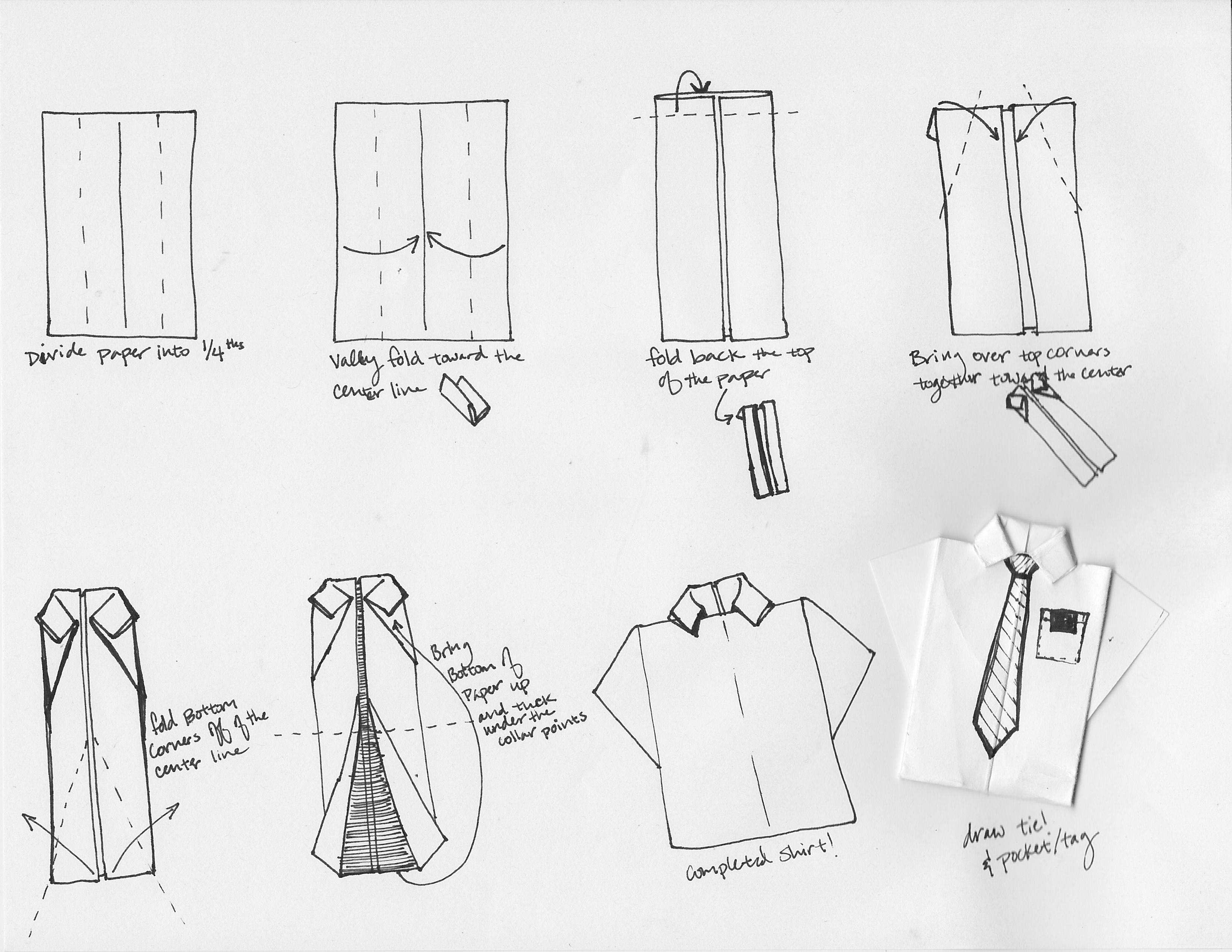 Как сделать открытку рубашку. фото и мастер-классы