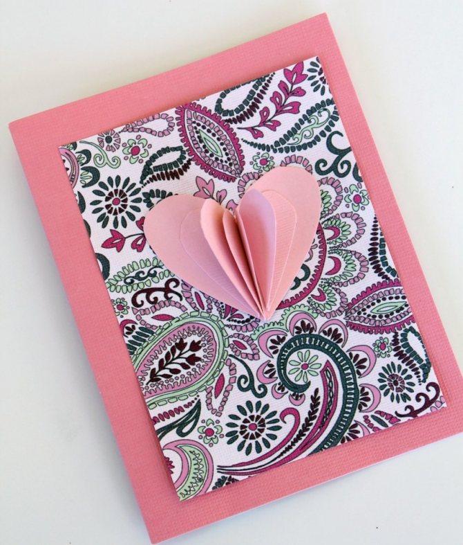Открытки своими руками - 75 фото идей для поздравительных открыток