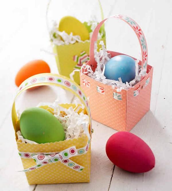 ? корзинка из фетра для пасхальных яиц своими руками — 3+ супер мастер-класса