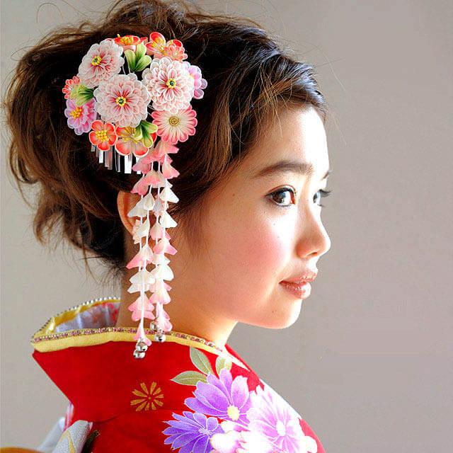 Японское украшение для волос – канзаши