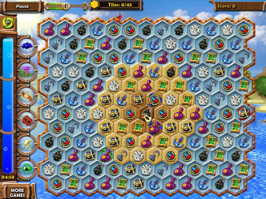 Сокровища моря 3
