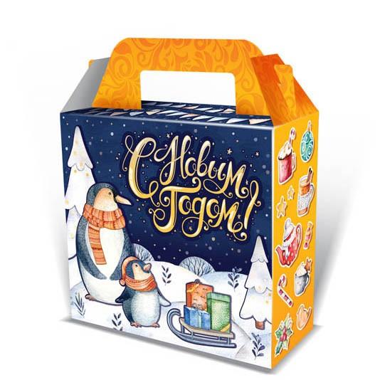 Как сделать новогоднюю коробку своими руками. 5 идей новогодней коробки