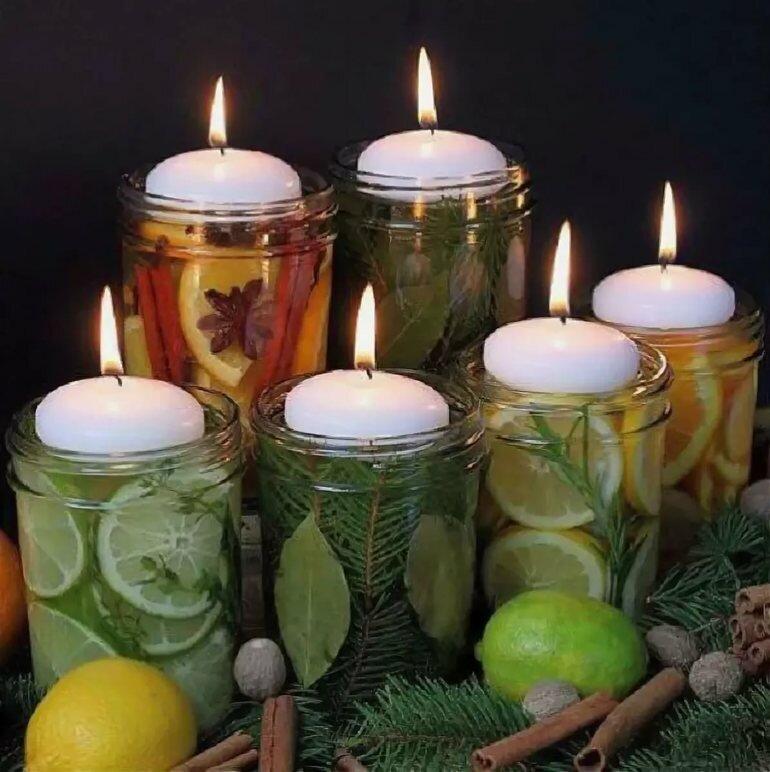 Инструкция для начинающих: как сделать ароматические свечи | cleanipedia