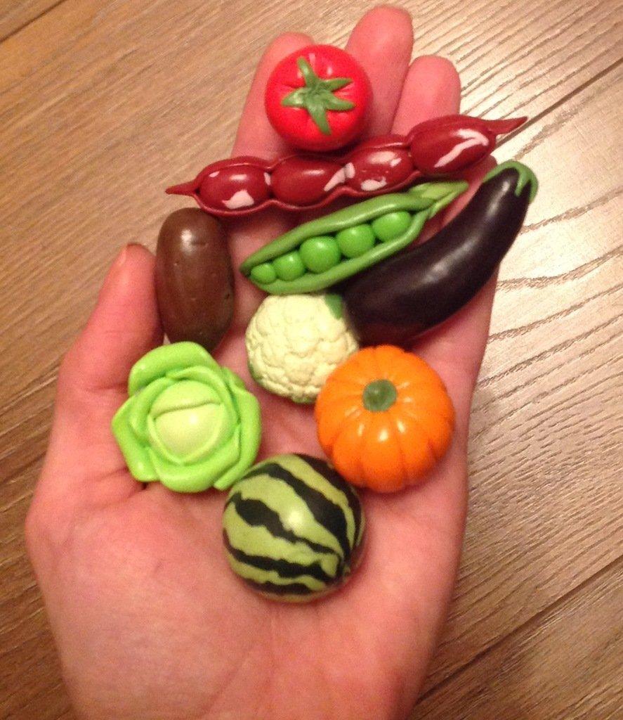 Мастер-классы по лепке еды из полимерной глины и пластилина своими руками