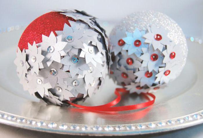 Новогодние шары своими руками: фейерверк блестящих идей!