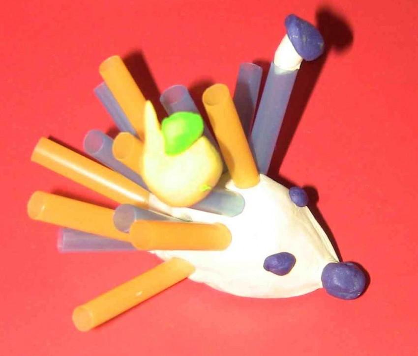 Поделки из трубочек для коктейля для детей. идеи, мастер-классы для начинающих, фото