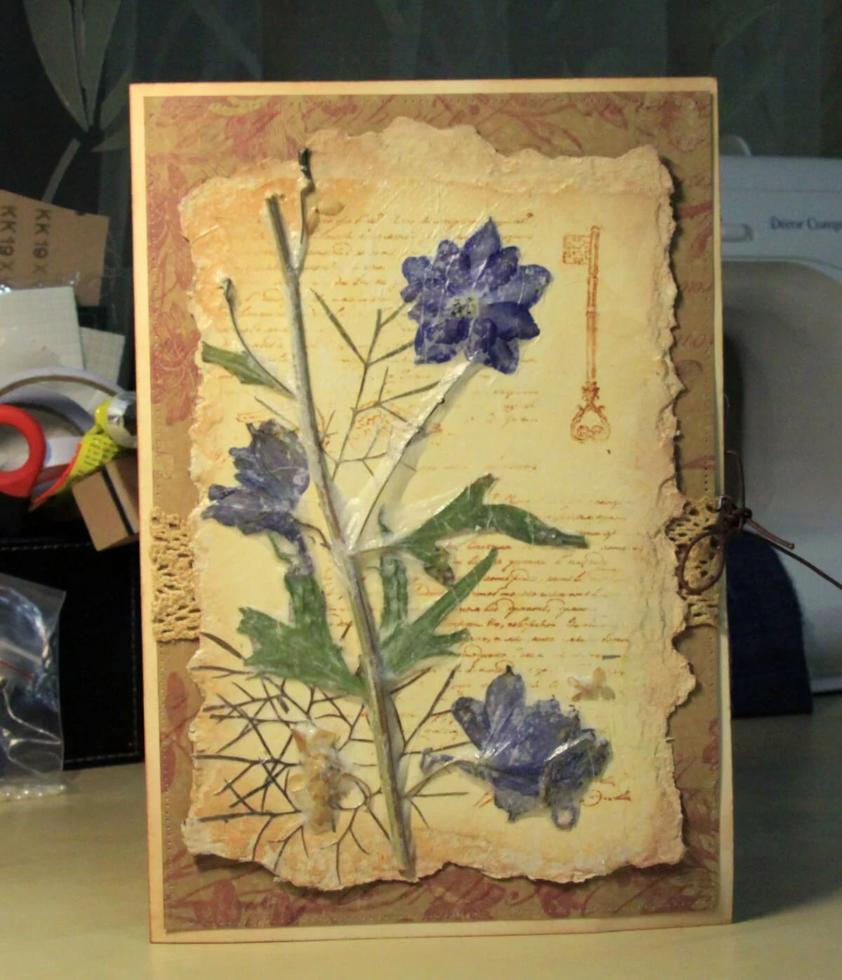 Открытка гербарий | страна мастеров
