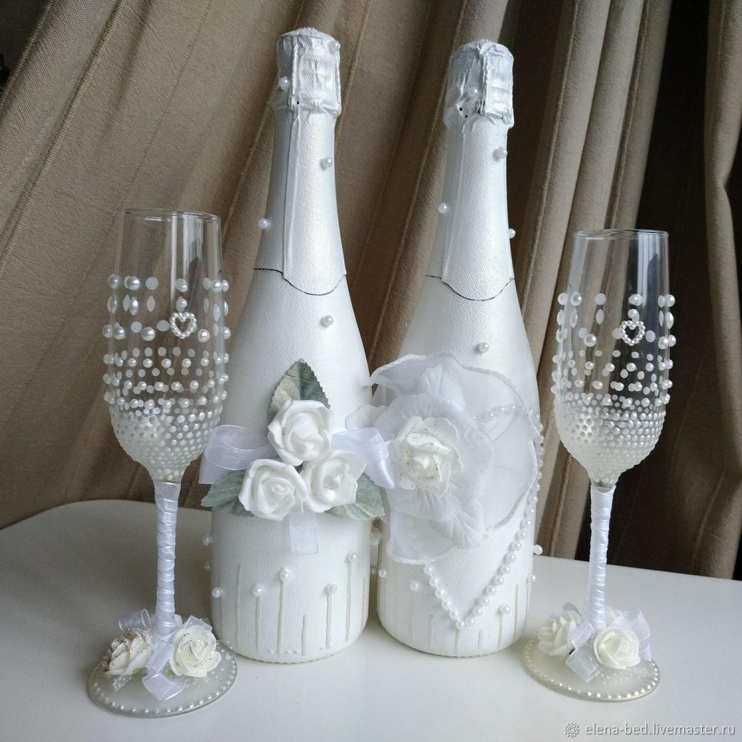 Как украсить шампанское на свадьбу своими руками: идеи и пошаговый мастер-класс | lisa.ru