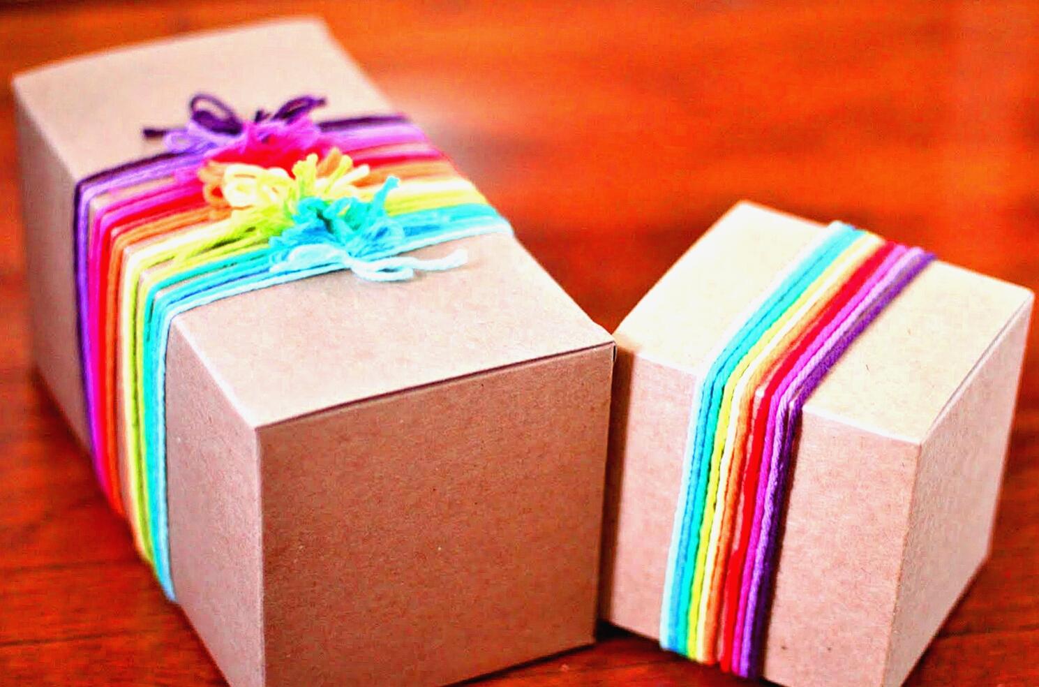 Подарки: все дело в упаковке