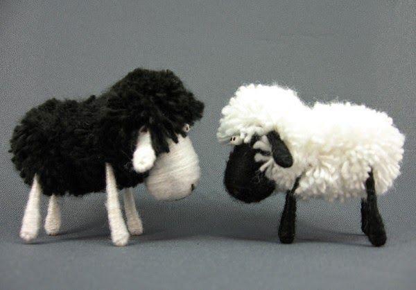 Маленькая миленькая быстрая овечка своими руками