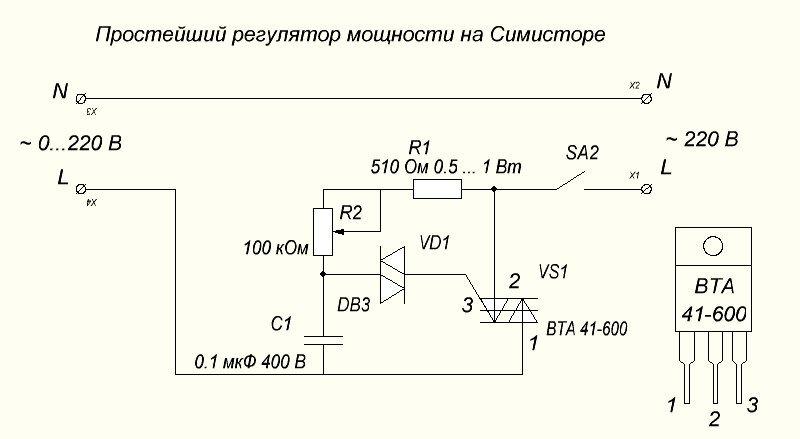 Стабилизатор температуры паяльника