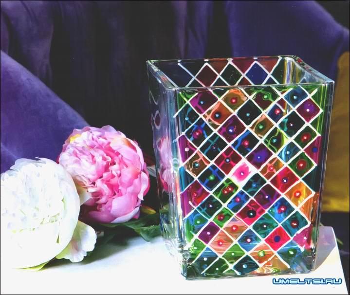 Декор предметов аппликация новая жизнь старой вазы материал природный
