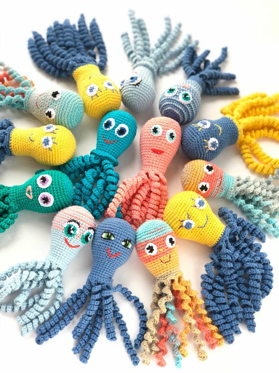 Осьминог из ниток своими руками: мастер-класс для малышей. мастер-класс по изготовлению детской игрушки «осьминог и золотая рыбка