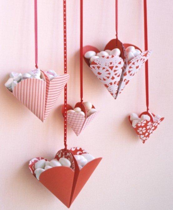 Декор на день святого валентина (14 февраля) своими руками