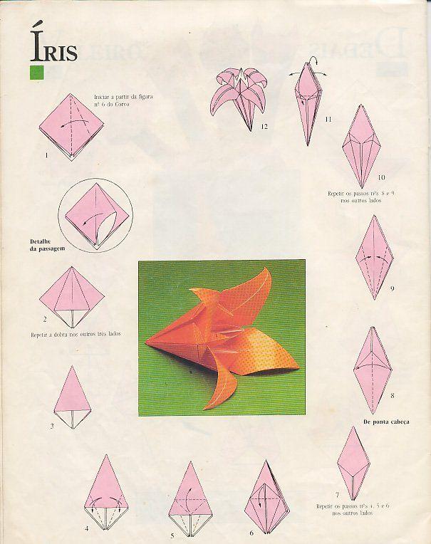 Как сделать простой цветок оригами: 14 шагов