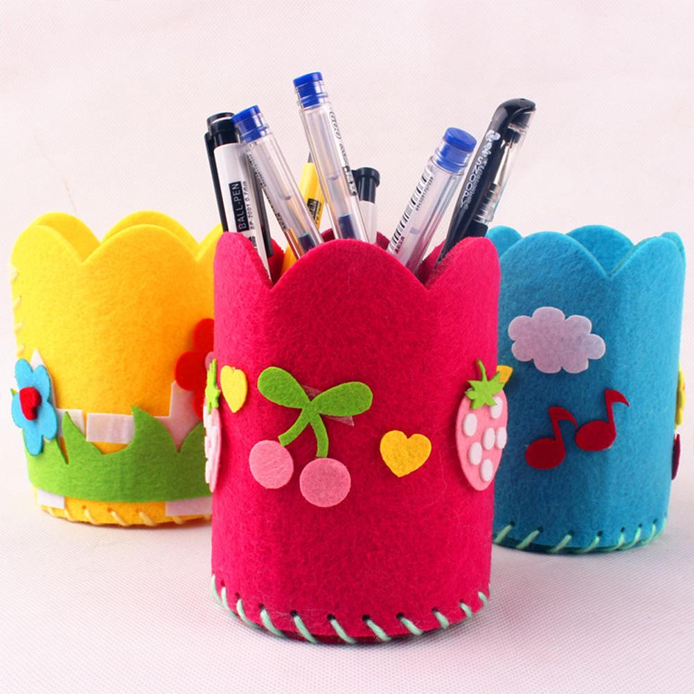 Подставка для карандашей своими руками: виды, изготовление