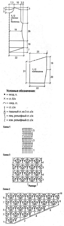 Безрукавка крючком, 24 модели с мастер - классами, схемами и описанием