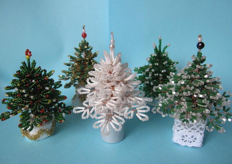 Деревья из бисера для начинающих – 21 дерево, фото, схемы, мк