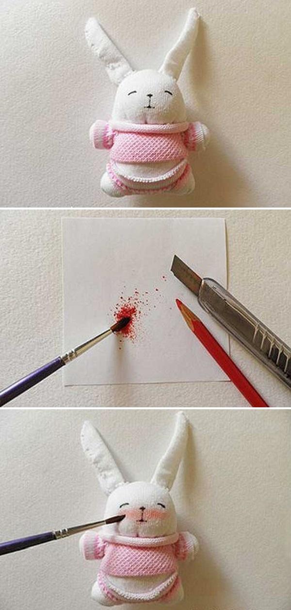 Как сделать куклу из носка своими руками в домашних условиях: пошаговая инструкция