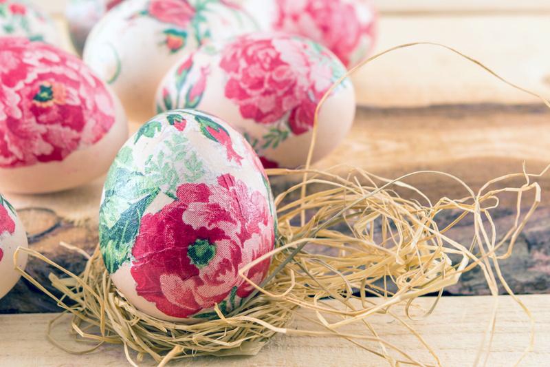Декупаж яиц к пасхе своими руками, 3 пошаговых мастер класса