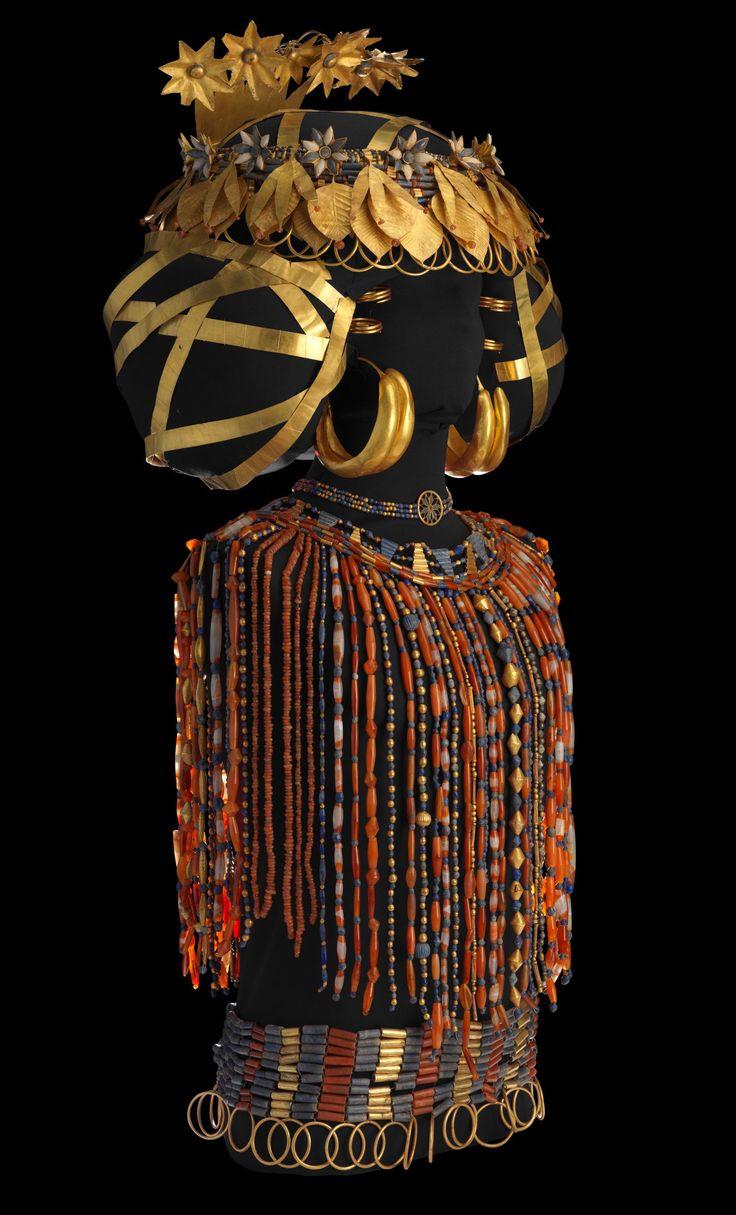 Египетские серьги