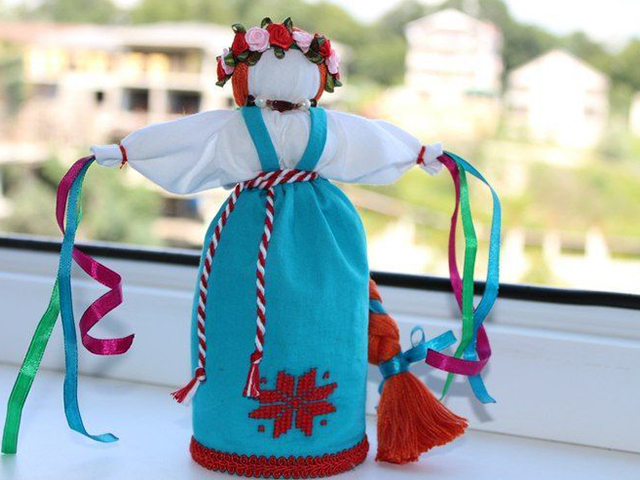 Кукла веснянка: делаем оберег своими руками | мастер-класс