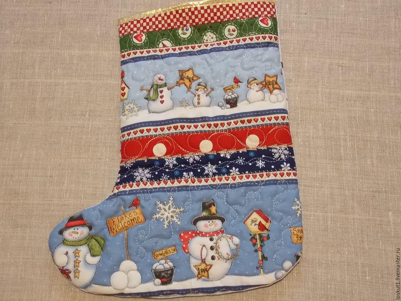 Сапожок на рождество - вышивка - мир удовольствия и гармонии - страна мам