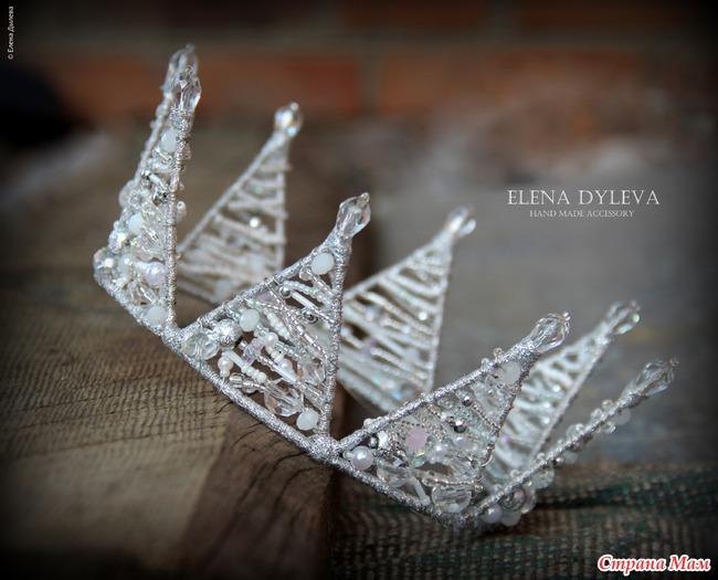 """Мастер-класс новый год квиллинг мк  корона """"снежная королева"""" бумага"""